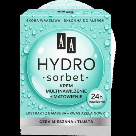 AA Hydro Sorbet krem multinawilżenie cera mieszana/tłusta