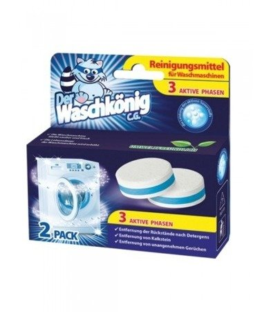 Der Waschkonig C.G. tabletki do czyszczenia pralki 2 szt