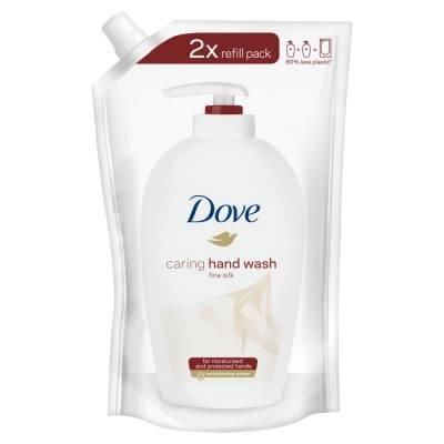 Dove Supreme Fine Silk Kremowe mydło - zapas 500ml